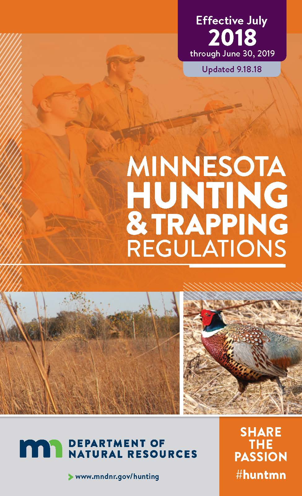 2018-hunting regulations