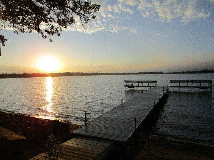 main dock sunrise