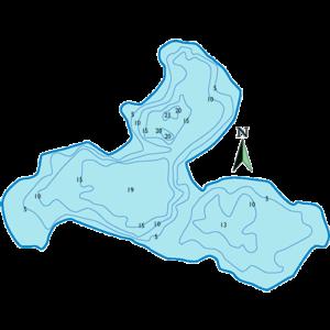Gull-Lake-Depth