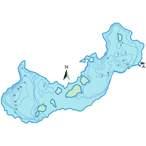 Three-Is-Lake-Depth