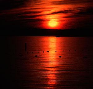 Lake Bemidji Sunset